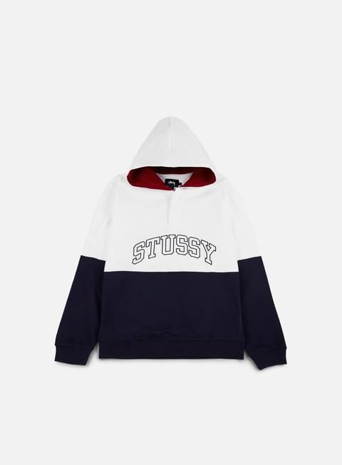 Hooded Sweatshirts Stussy Block Hooded Jersey