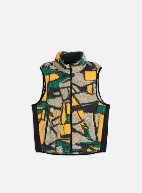 Vest Jackets Stussy Block Sherpa Vest