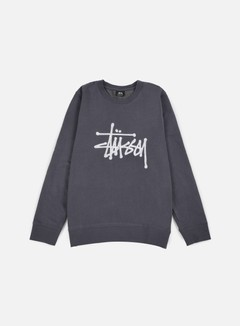 Stussy - Chain Stitch Applique Crewneck, Midnight 1
