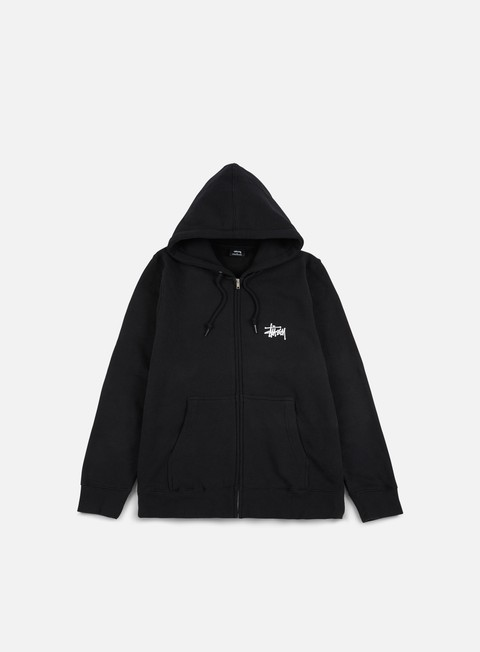 felpe stussy fire dragon zip hoodie black