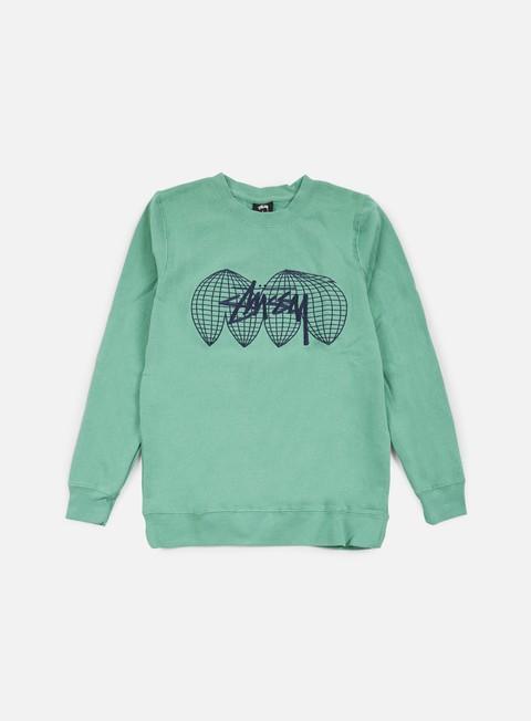 Sale Outlet Crewneck Sweatshirts Stussy Global Crewneck
