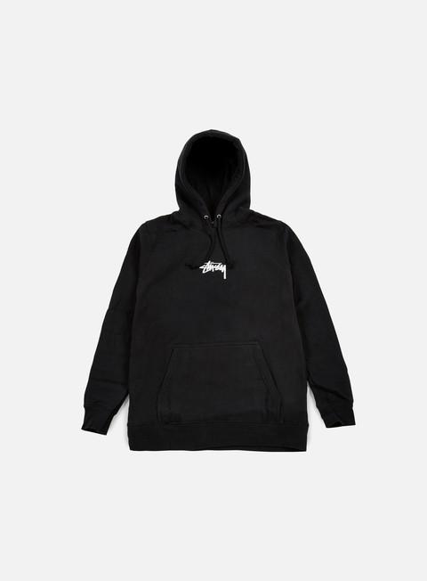 felpe stussy hd stock hoodie black