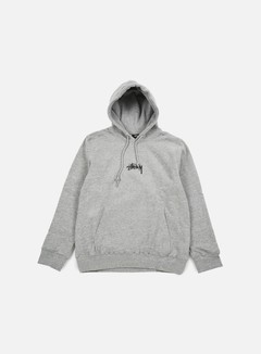 Stussy - HD Stock Hoodie, Grey Heather