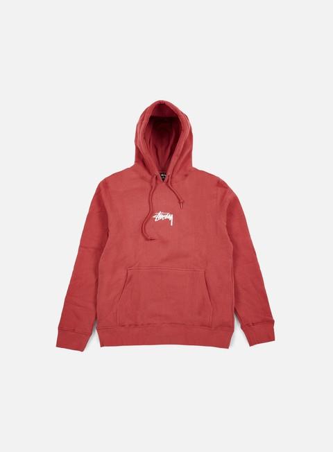 felpe stussy hd stock hoodie salmon