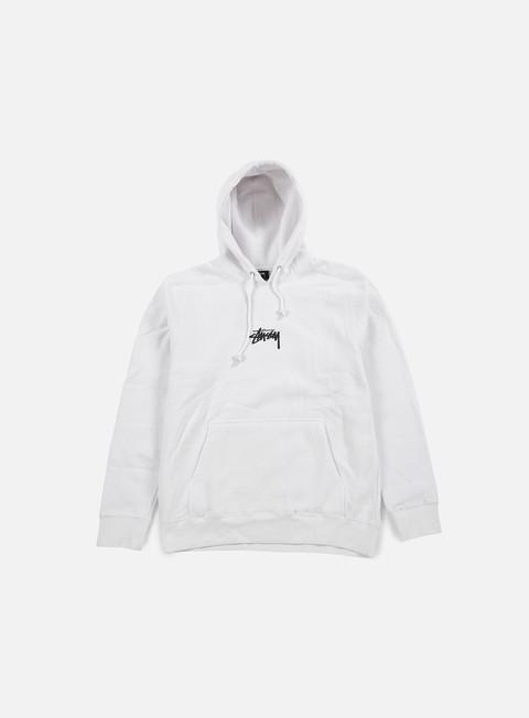 felpe stussy hd stock hoodie white