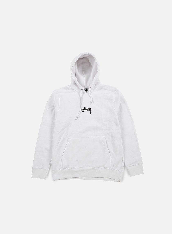 Stussy - HD Stock Hoodie, White