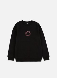 Stussy - International Circle Applique Crewneck, Black 1