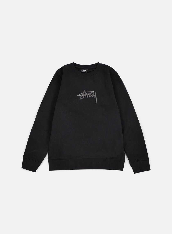 STUSSY New Stock Applique Crewneck € 71 Crewneck Sweatshirts ... 82a6be85a5f9