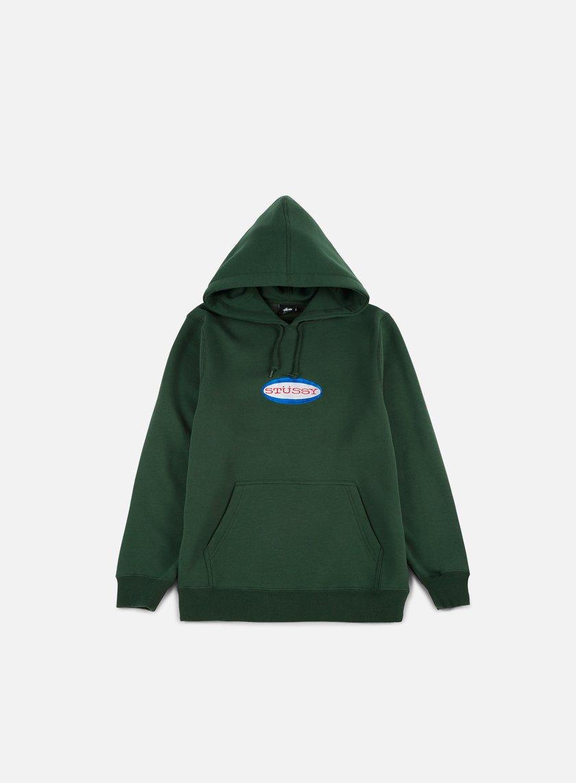 Stussy Oval Logo Applique Hoodie