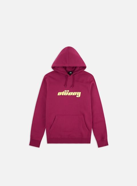 Hooded Sweatshirts Stussy Pretty Stussy App Hoodie