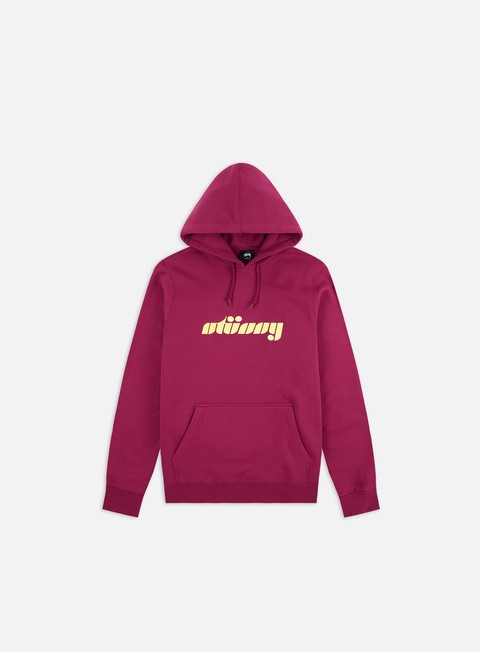 Hooded Sweatshirts Stussy Pretty Stussy Applique Hoodie