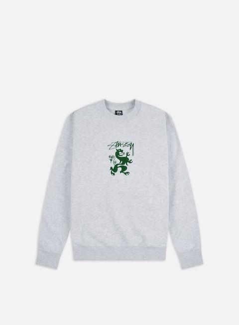 Crewneck Sweatshirts Stussy Regal Applique Crewneck