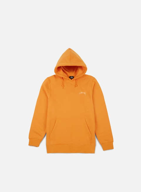 felpe stussy smooth stock hoodie apricot