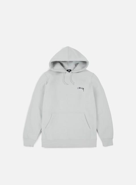 felpe stussy smooth stock hoodie fog