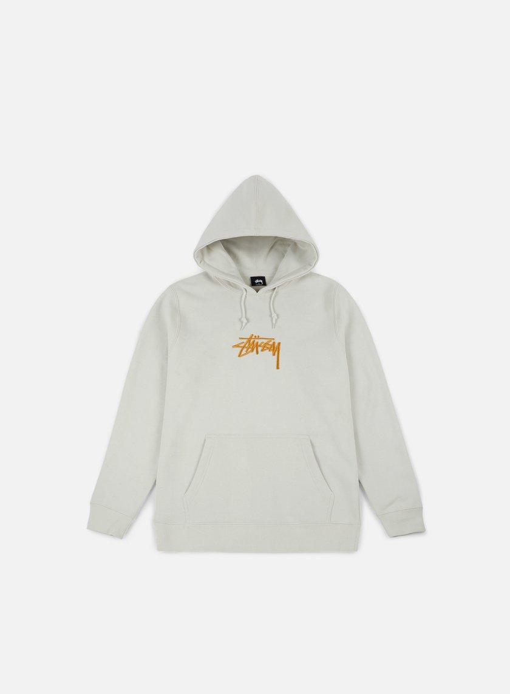 STUSSY Stock Applique Hoodie € 95 Hooded Sweatshirts  fd8f342e3a27