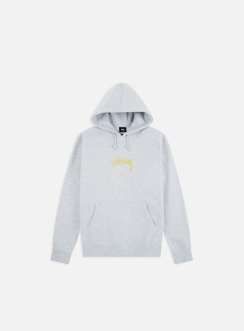 Hooded Sweatshirts Stussy Stock Logo Applique Hoodie