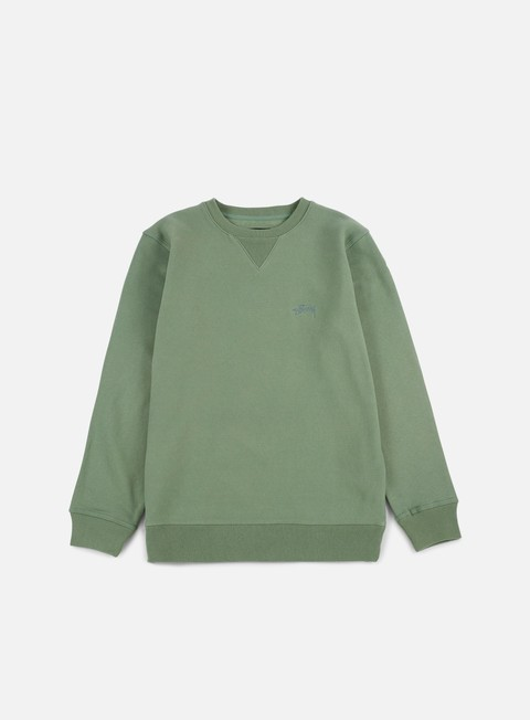 Sale Outlet Crewneck Sweatshirts Stussy Stock Logo Crewneck