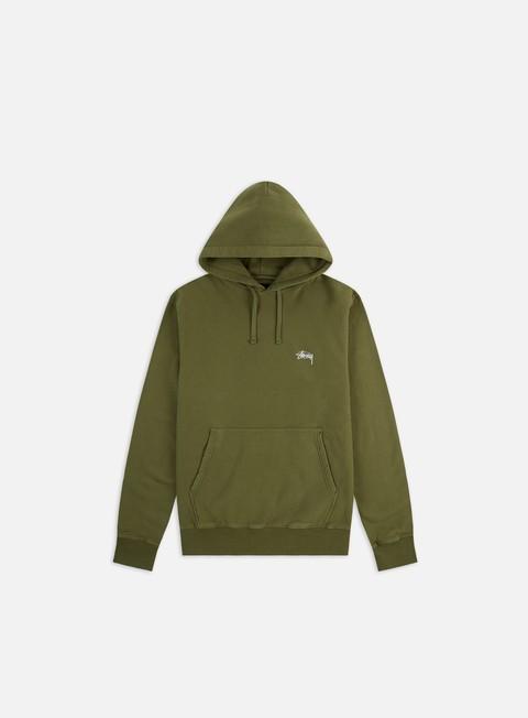 Hooded Sweatshirts Stussy Stock Logo Hoodie