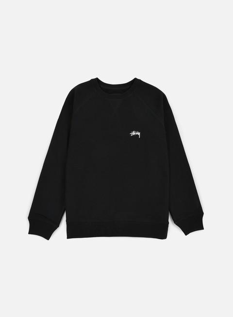 Crewneck Sweatshirts Stussy Stock Raglan Crewneck