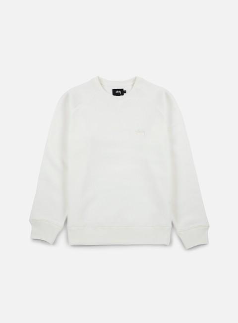 Sale Outlet Crewneck Sweatshirts Stussy Stock Raglan Crewneck