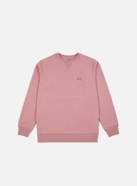Outlet e Saldi Felpe Girocollo Stussy Stock Terry Crewneck