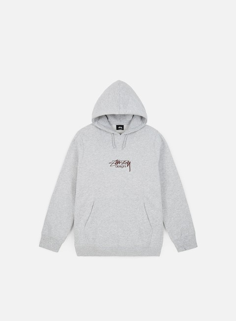 Hooded Sweatshirts Stussy Stussy Design Applique Hoodie