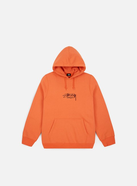 Hooded Sweatshirts Stussy Stussy Design Applique Hoodie