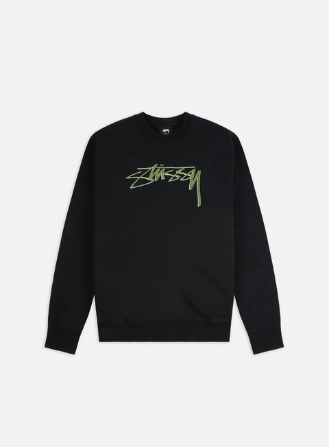 Stussy Stussy Smooth Stock Applique Crewneck