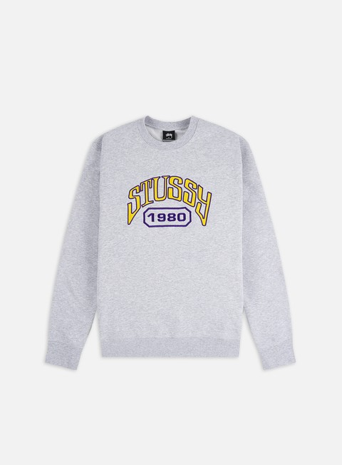Felpe Girocollo Stussy Stussy Tackle Twill Applique Crewneck