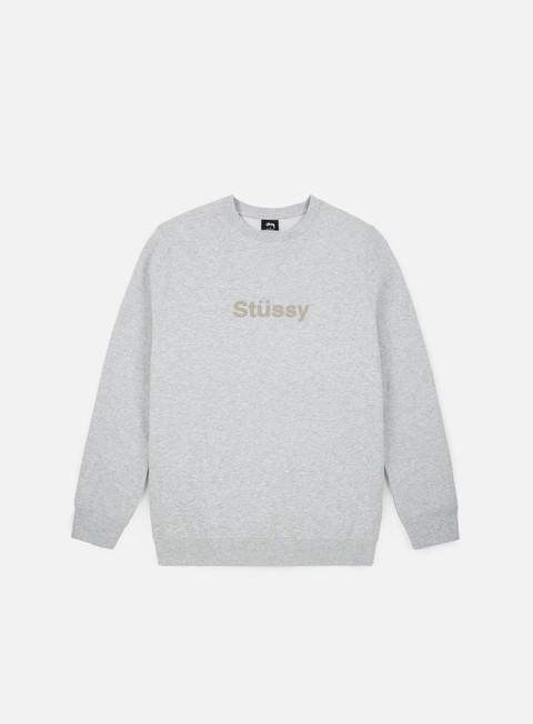 Logo Sweatshirts Stussy Stussy Weld Applique Crewneck