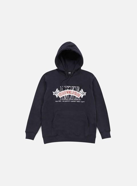 felpe stussy super bowl hoodie navy
