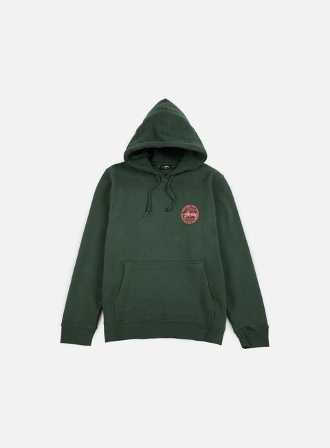 felpe stussy vintage dot hoodie pine
