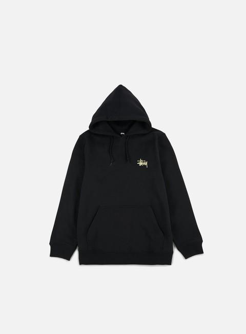 felpe stussy wave dragon hoodie black