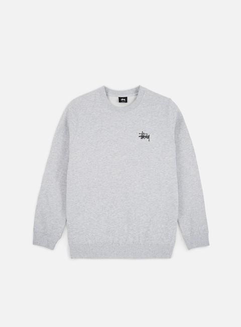 Crewneck Sweatshirts Stussy WMNS Basic Stussy Crewneck