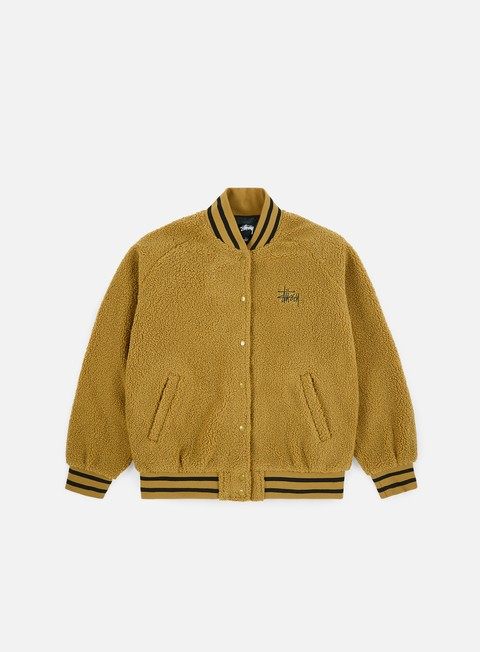 Sweaters and Fleeces Stussy WMNS Micah Varsity Jacket