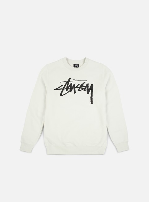 Sale Outlet Crewneck Sweatshirts Stussy WMNS Old Stock Crewneck