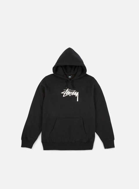 Outlet e Saldi Felpe con Cappuccio Stussy WMNS Old Stock Hoodie