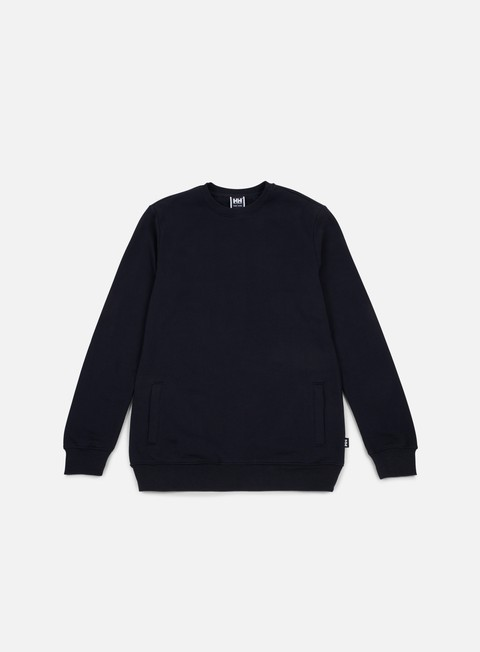 felpe sweet sktbs x helly hansen sweet hh basic block crewneck navy