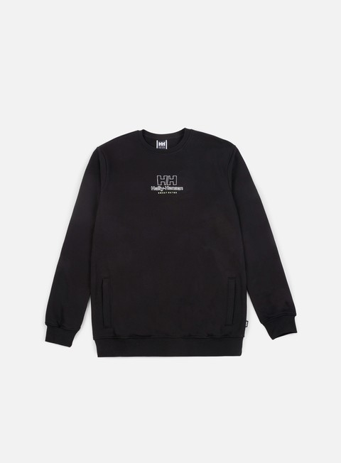 felpe sweet sktbs x helly hansen sweet hh basic crewneck black