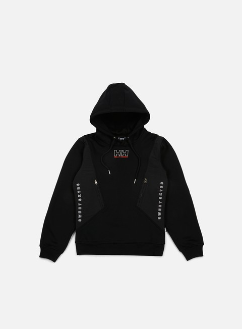felpe sweet sktbs x helly hansen sweet hh basic panel hoodie black