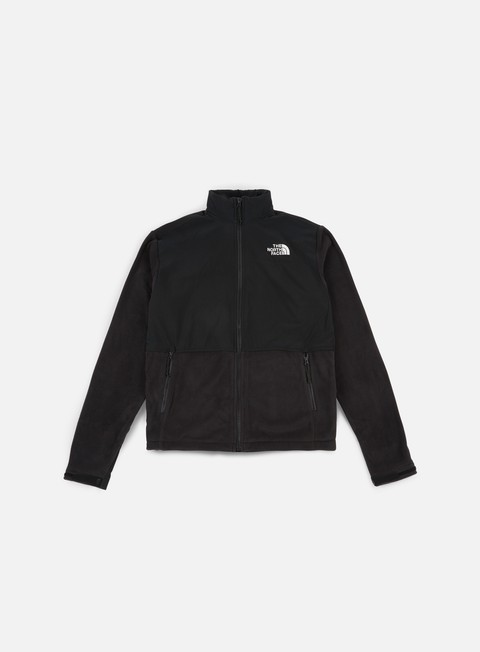 felpe the north face adj denali fleece tnf black