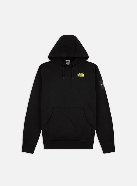 Felpe con Cappuccio The North Face Black Box Fleece Hoodie