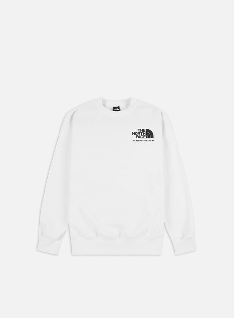 Crewneck Sweatshirts The North Face Coordinates Crewneck