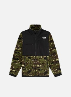 The North Face - Denali 2 Jacket, Burnt Olive Green Ux Digi Camo Print