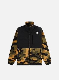 The North Face - Denali 2 Jacket, Burnt Olive Green Woods Camo Print