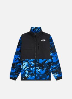 The North Face - Denali 2 Jacket, Clear Lake Blue Digi Top Flc2 Print