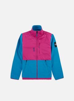 The North Face - Denali Pile Fleece, Acoustic Blue/Festival Pink