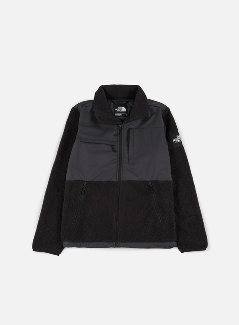 felpe the north face denali pile fleece tnf black