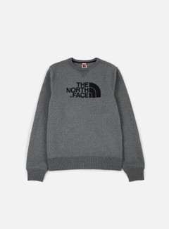 The North Face - Drew Peak Crewneck, Medium Grey Heather