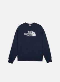 The North Face - Drew Peak Crewneck, Urban Navy/White